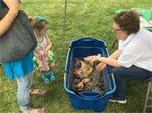 Westmoreland Cleanways Compost Bin at the Murrysville Farmers Market